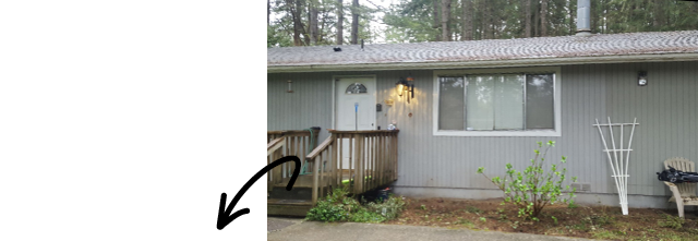 Sellers' Exterior Makeover BEFORE